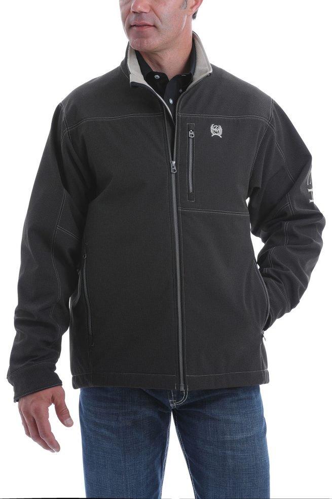 mens black conceal carry jacket