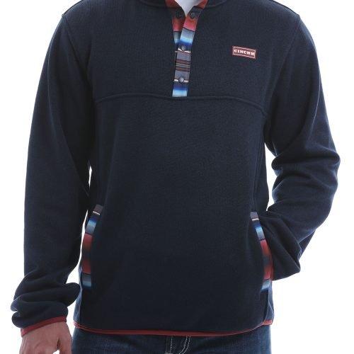 mens navy pullover